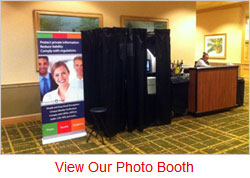 Corporate Event Photo Booth